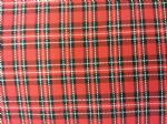 TARTAN RED - Fabric - Price Per Metre